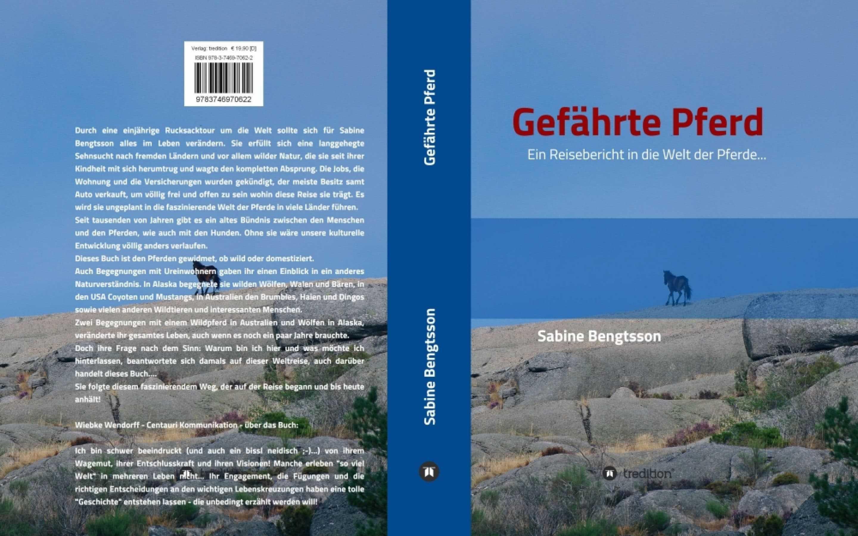Gefährte Pferd – Buchneuerscheinung – ein Reisebericht in die Welt der Pferde