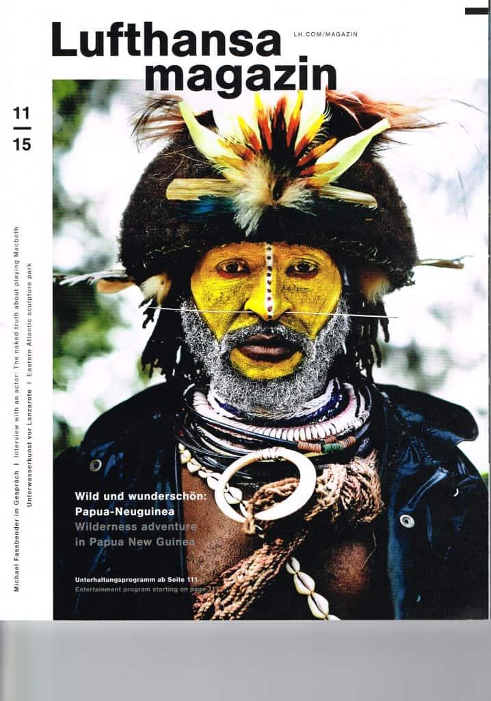 Perlenfaenger im Lufthansamagazin
